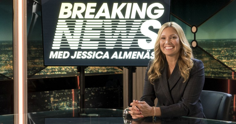 Breaking News med Jessica Almenäs på Kanal 5 Play streaming