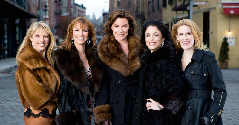 Real Housewives of New York City på Viafree