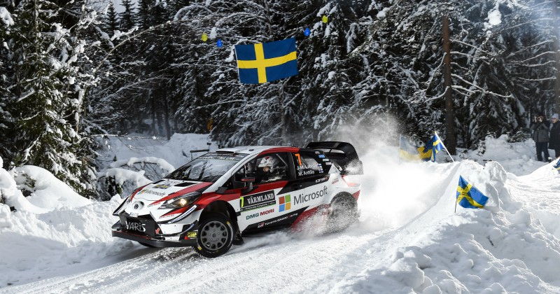Svenska rallyt 2020 LIVE streaming på SVT Play