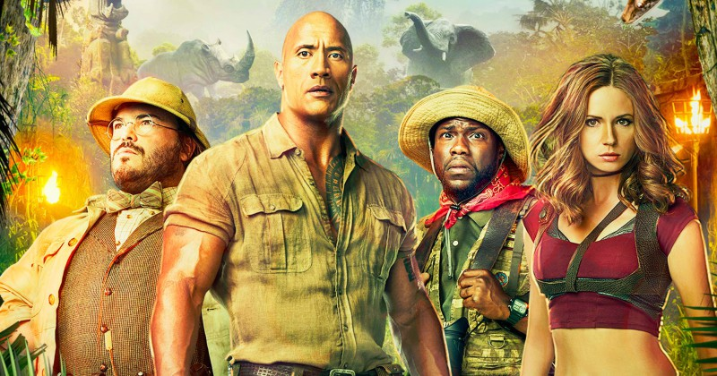 Jumanji: Welcome to the Jungle på TV3 Viafree streaming