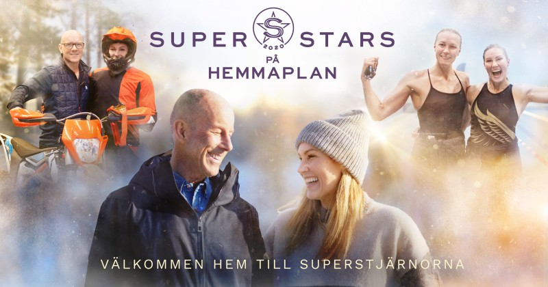 Superstars på hemmaplan på Kanal 5 Dplay