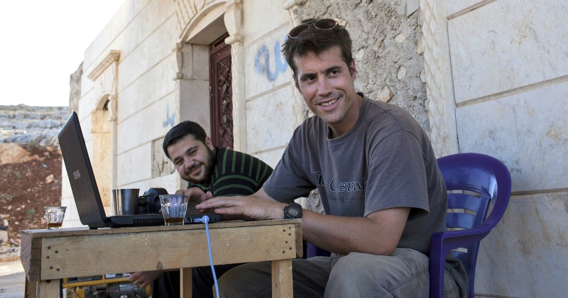 Avrättad av IS - historien om James Foley på SVT Play