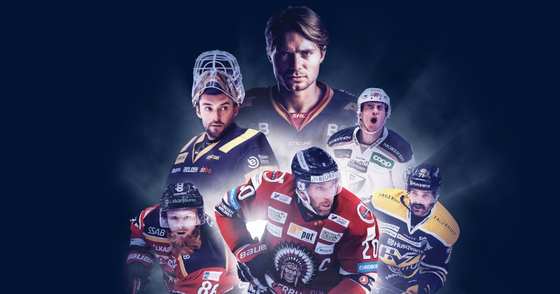 Spelare i SHL streaming på C More