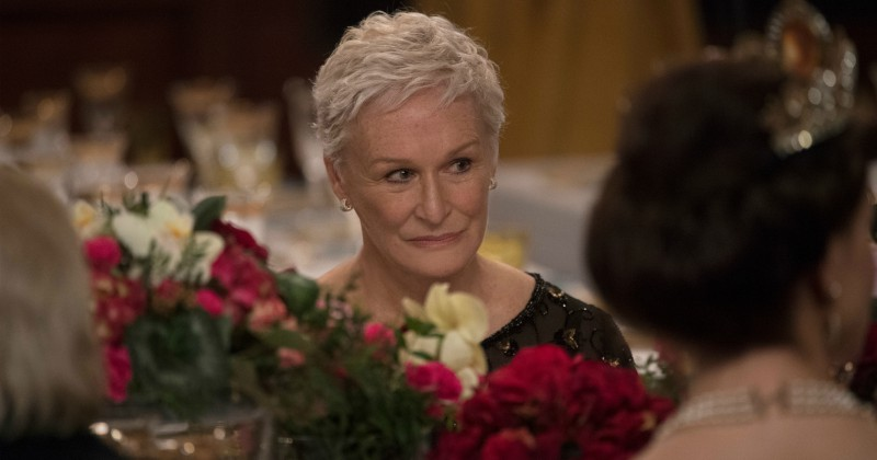 Glenn Close i The Wife på SVT Play